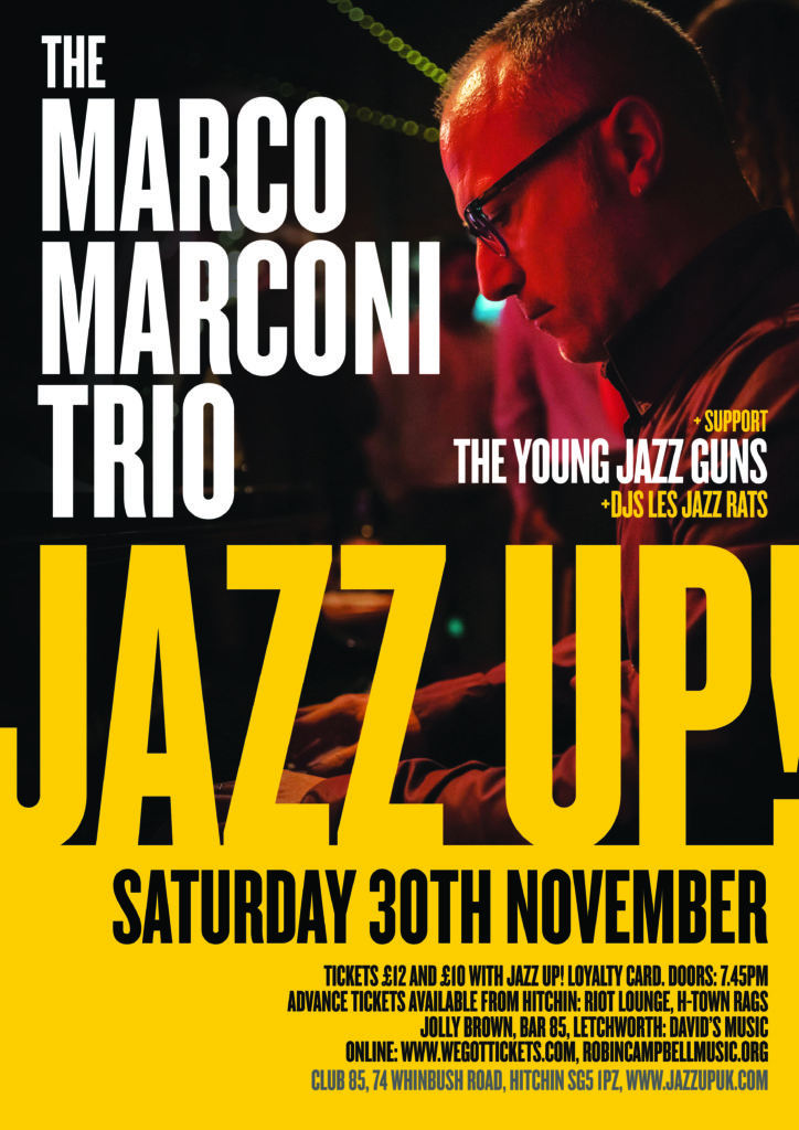 JazzUp Marc Marconi - 2020