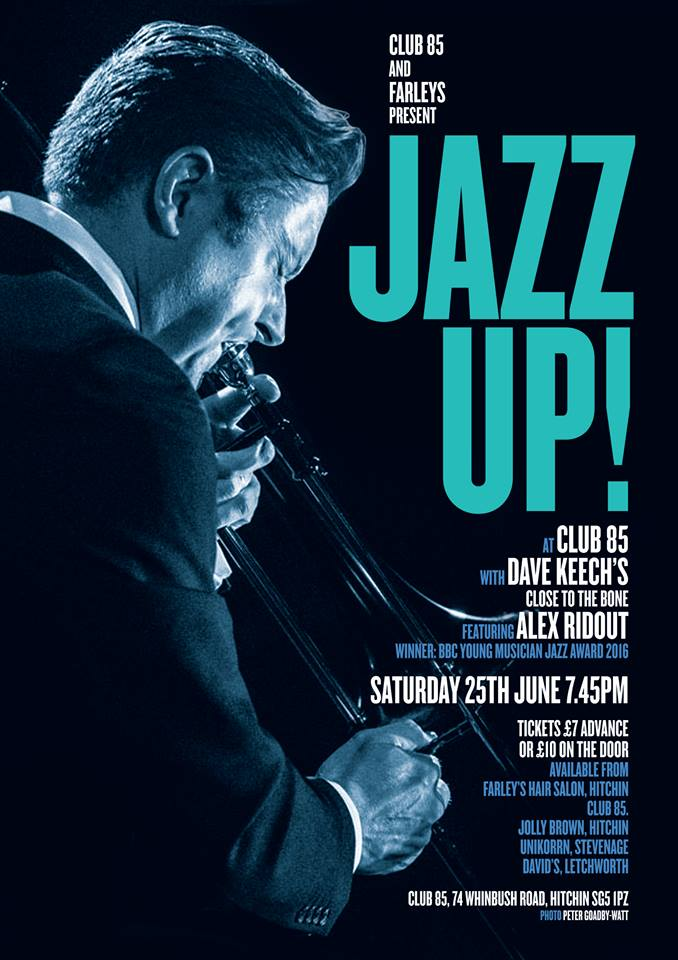 JazzUp Dave Keech - 2016