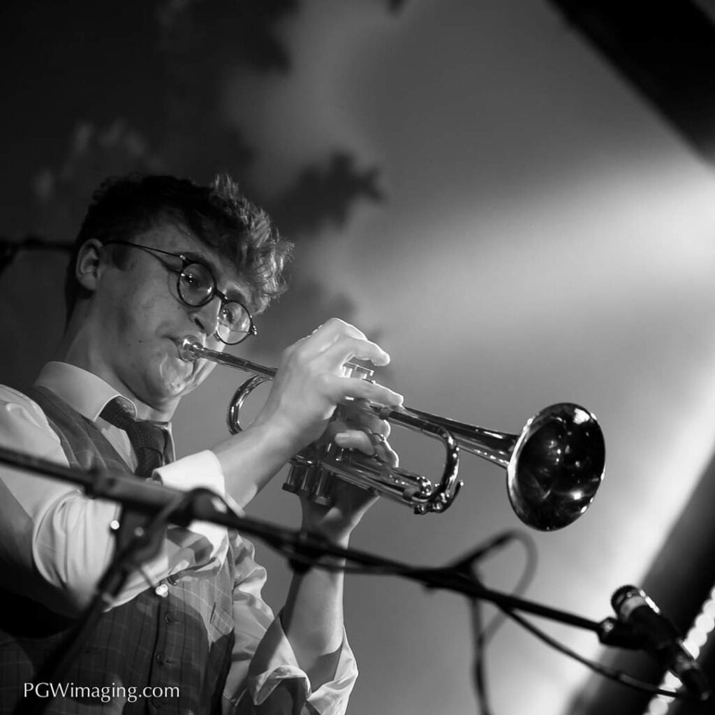 JazzUp Gabriel Taylor on Trumpet