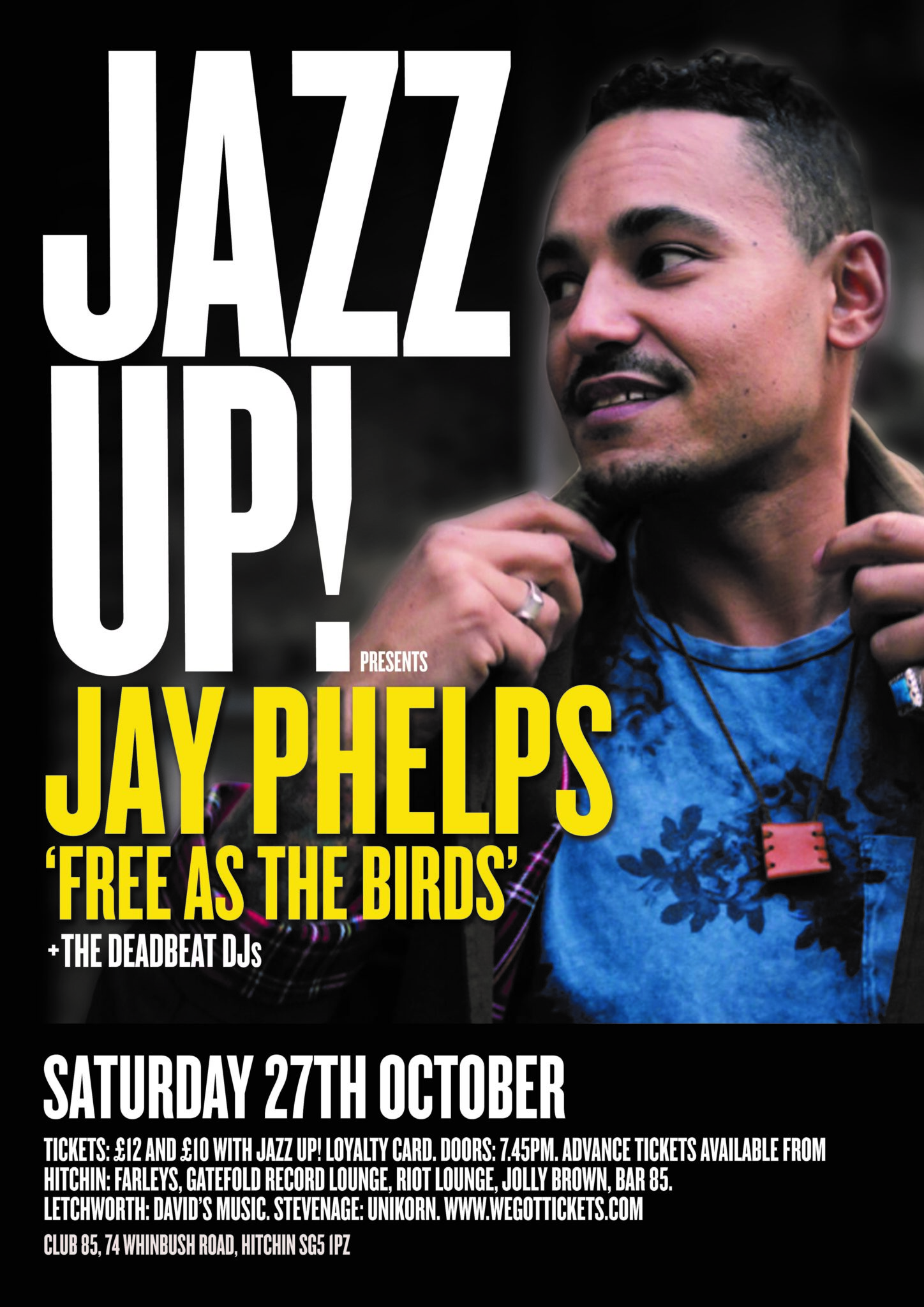 JazzUp - Jay Phelps Free as the Birds