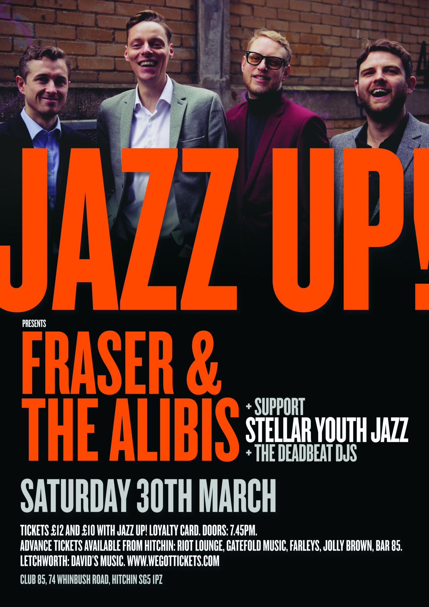 JazzUp - Fraser & The Alibis