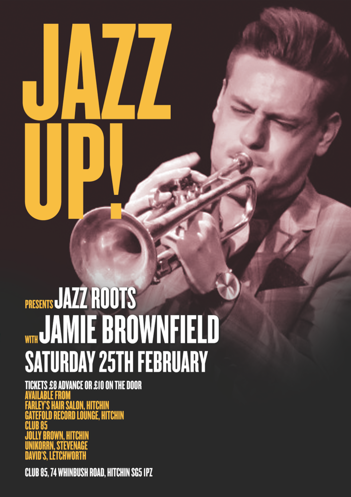 JazzUp Jamie Brownfield